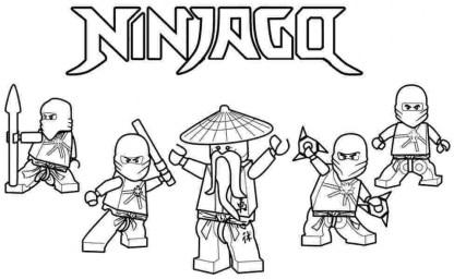 Lego Ninjago Coloring Pages Free Printable 679158