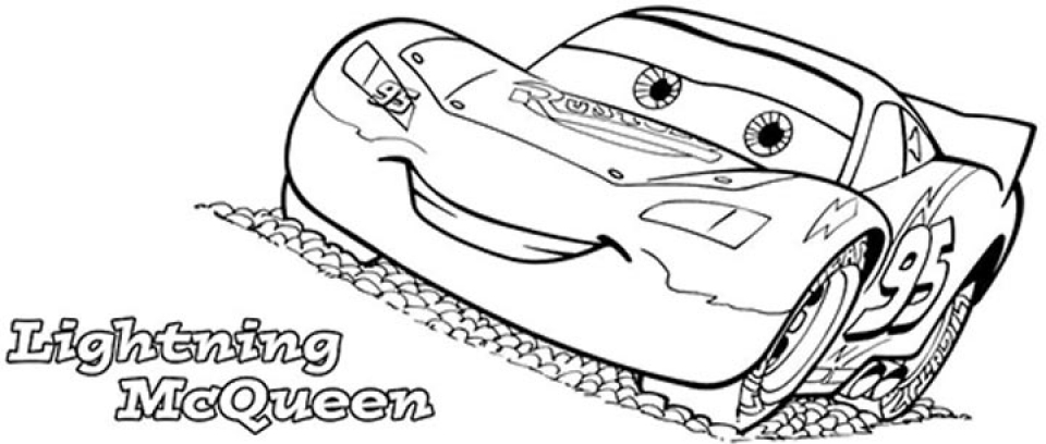 20+ Free Printable Lightning McQueen Coloring Pages - EverFreeColoring.com