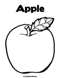 Online Apple Coloring Pages 6q195