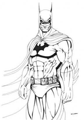 Online Batman Coloring Pages 289287