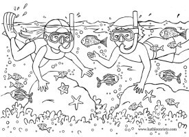 Online Beach Coloring Pages AS1YC