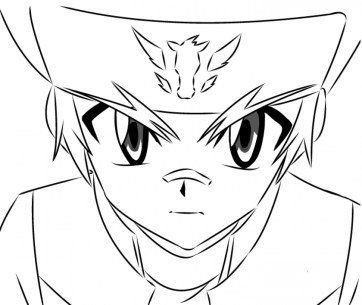 Online Beyblade Coloring Pages 10437