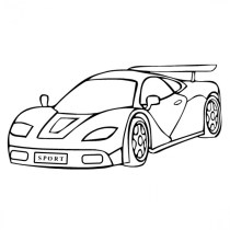Online Coloring Pages for Boys 28344