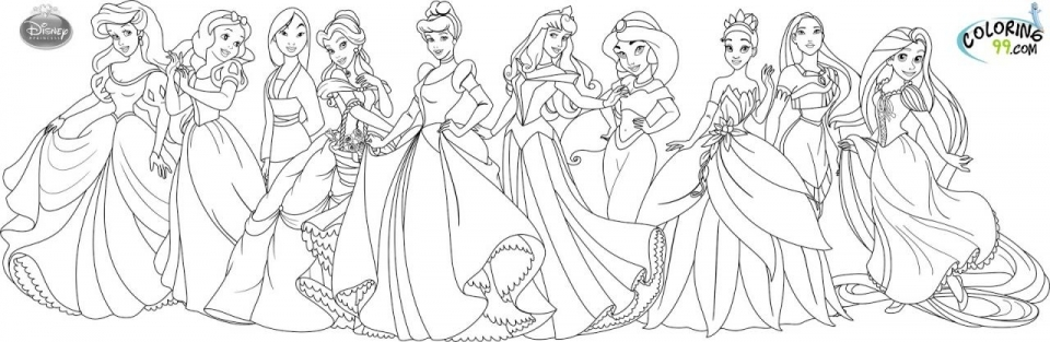 - Get This Online Disney Princess Coloring Pages 358885 !