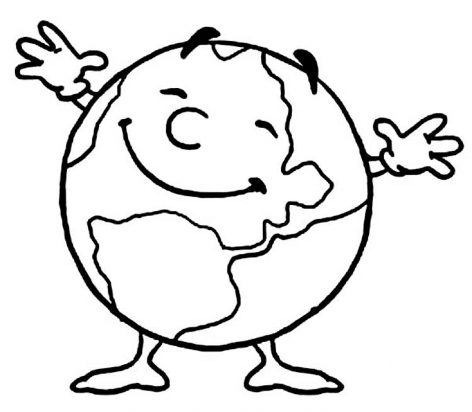 Online Earth Coloring Pages   f8shy