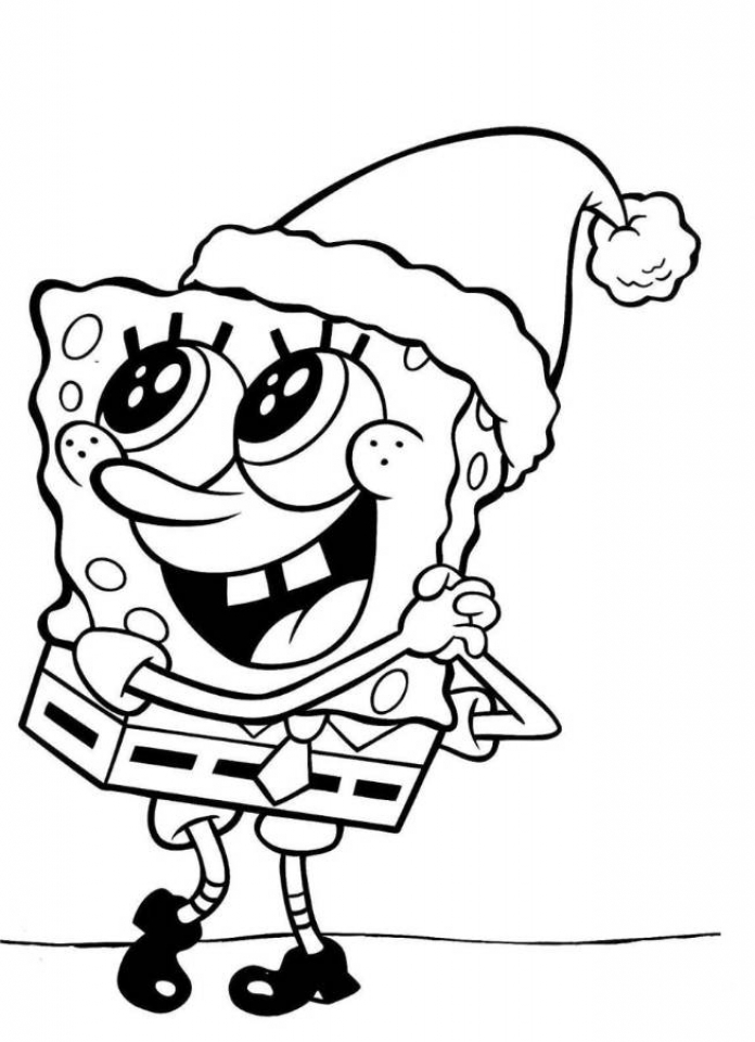 Online Spongebob Squarepants Coloring Pages   f8shy