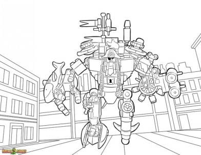 Online The Lego Movie Coloring Pages 358886