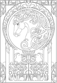 Printable Art Deco Patterns Coloring Pages for Adults 77n3f
