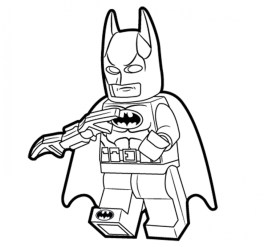 Printable Batman Coloring Pages 811910