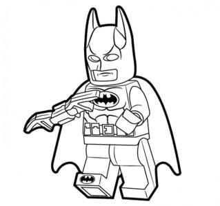 Printable Batman Coloring Pages 811910