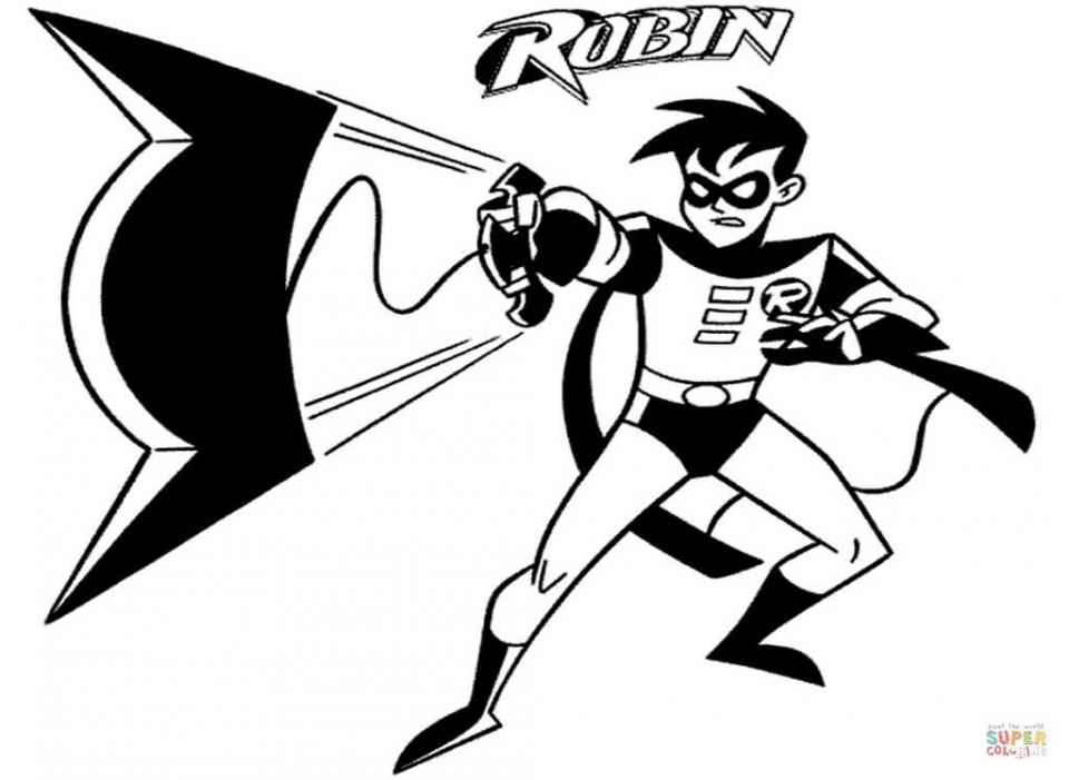 Printable Batman Coloring Pages Online   184776
