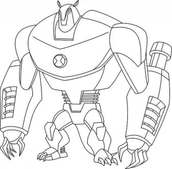 Printable Ben 10 Coloring Pages 9wchd