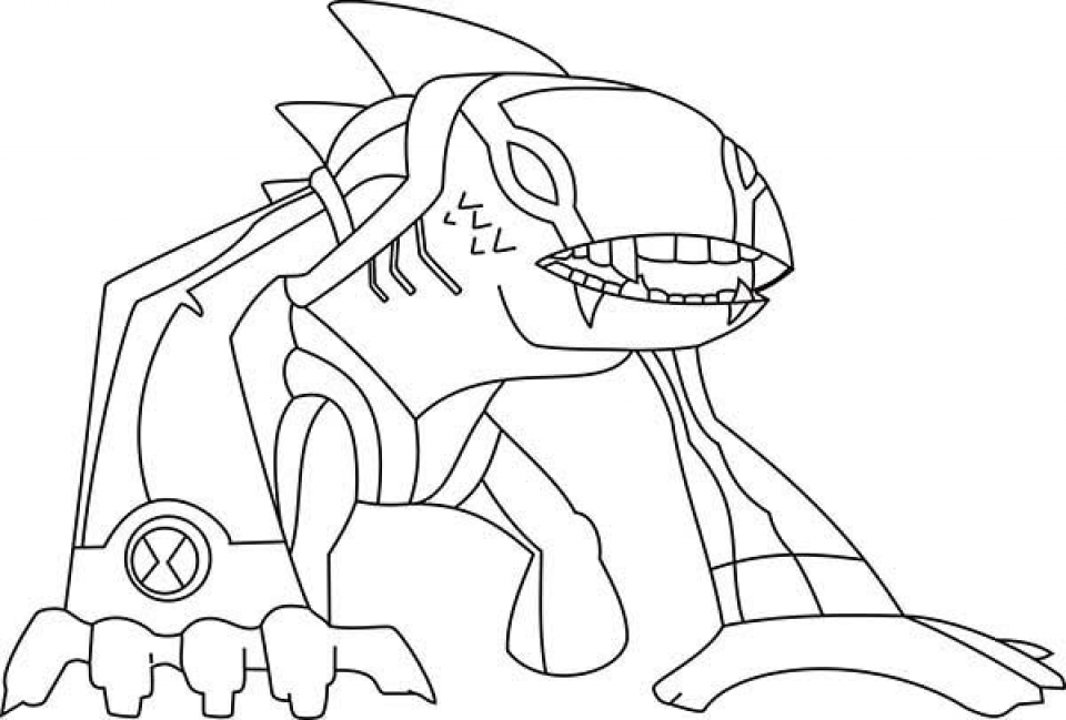 Get This Printable Ben 10 Coloring Pages Online 2x534 !
