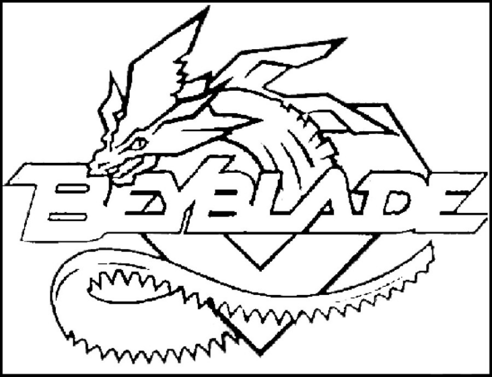 Get This Printable Beyblade Coloring Pages Online 89391