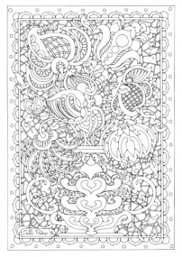 Printable Complex Coloring Pages for Grown Ups Free 2VCGT
