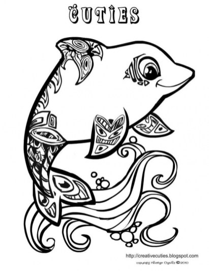 Printable Cute Coloring Pages 00467