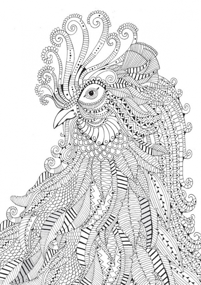 - 20+ Free Printable Difficult Animals Coloring Pages For Adults -  EverFreeColoring.com