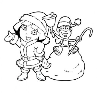 Printable Dora The Explorer Coloring Pages 7ao0b