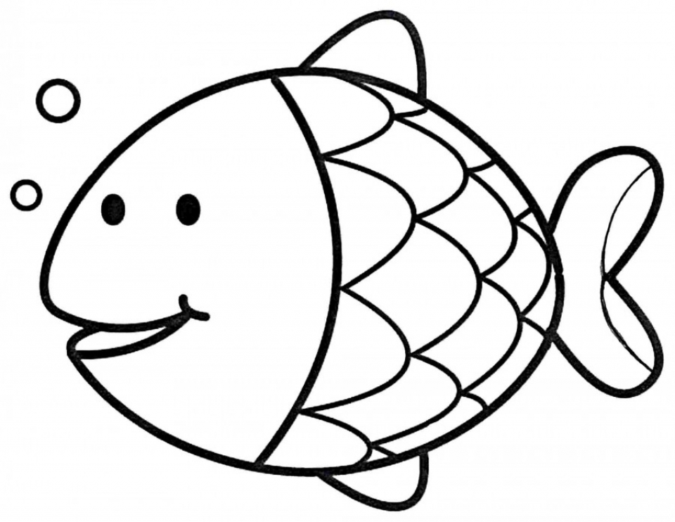 Printable Fish Coloring Pages   811911