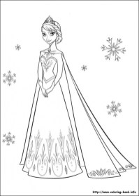 Printable Frozen Coloring Pages 811914