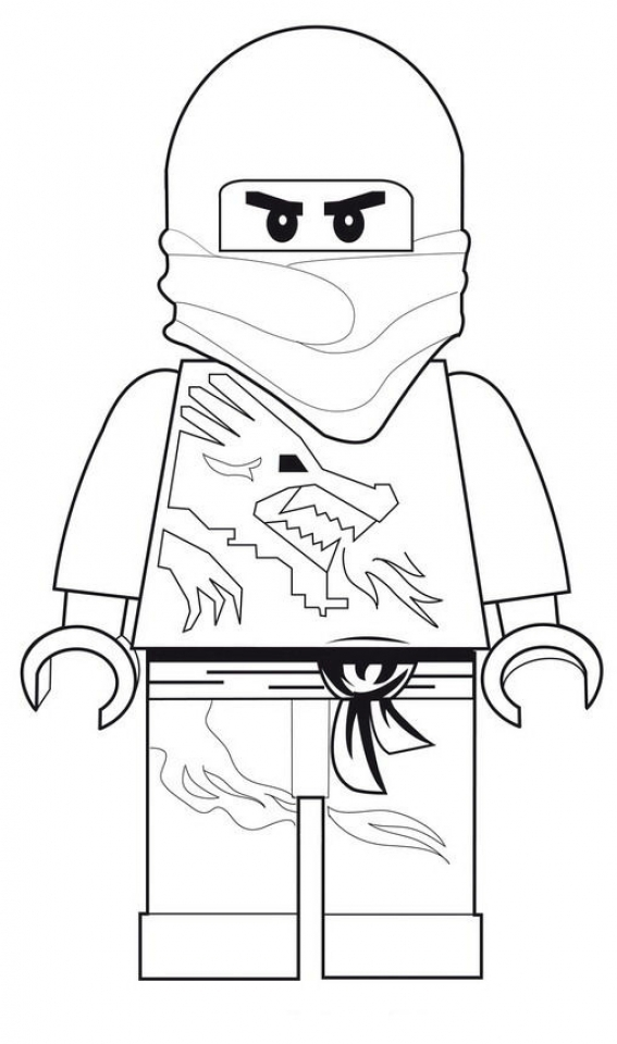 Printable Lego Ninjago Coloring Pages Online   184771