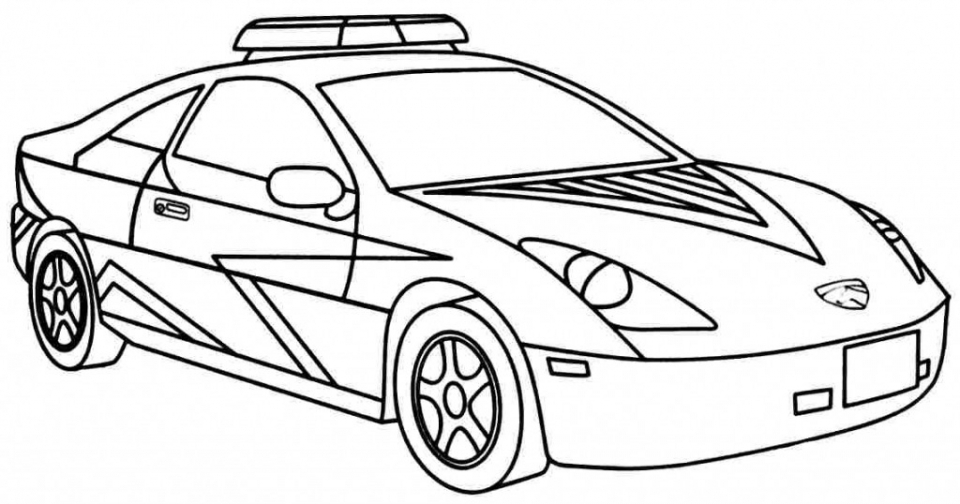 20+ Free Printable Police Car Coloring Pages ...