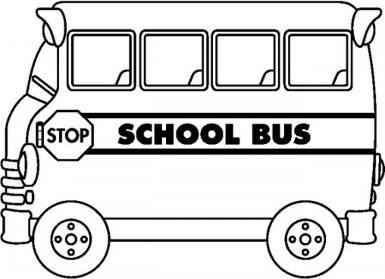 Printable School Bus Coloring Pages Online vu6h16