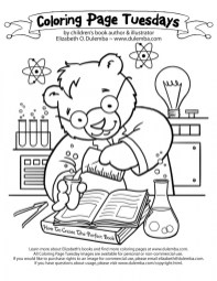 Printable Science Coloring Pages dqfk29