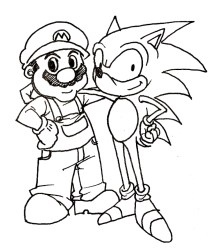 Printable Sonic Coloring Pages 662626
