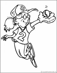 Printable Sports Coloring Pages Y2XRF