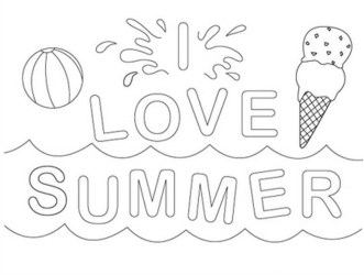 Printable Summer Coloring Pages Online 781018