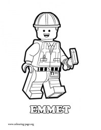 Printable The Lego Movie Coloring Pages Online 638588