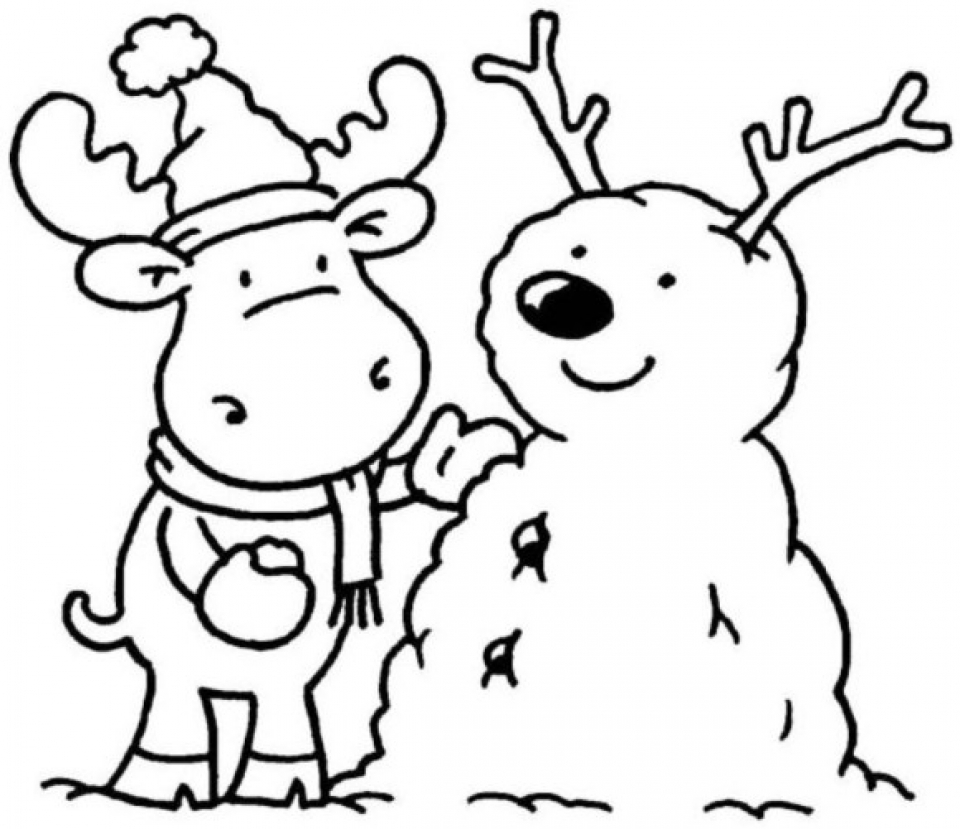 Printable Winter Coloring Pages   662631