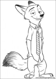 Printable Zootopia Coloring Pages 810609