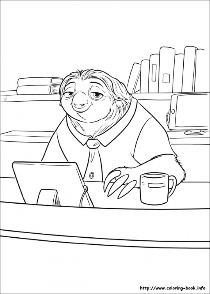 Printable Zootopia Coloring Pages Online   638594