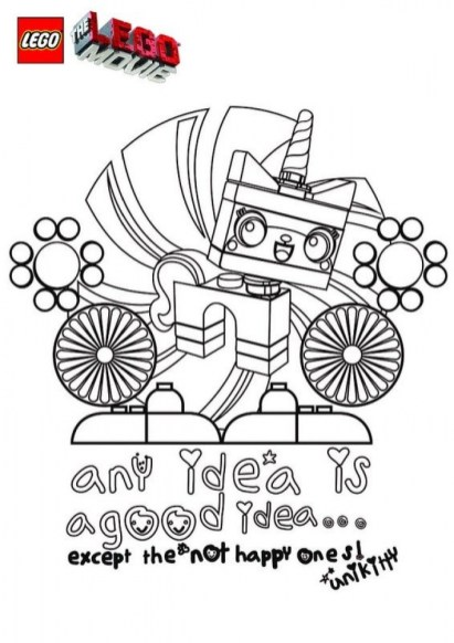The Lego Movie Coloring Pages Free Printable 606706