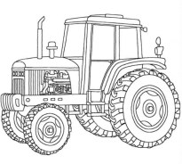 Tractor Coloring Pages Free Printable 76955