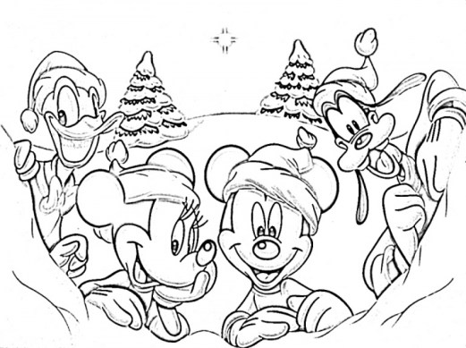 Winter Coloring Pages Free Printable 595982