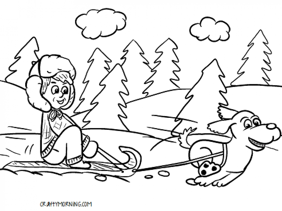 - Get This Winter Coloring Pages Free Printable 772663 !