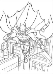 Free Printable Batman Coloring Pages DC Superhero - 75291