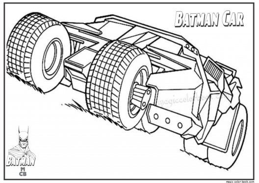 Batman Coloring Pages for Kids 371BH