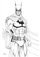 Batman Coloring Pages for Kids 618WA