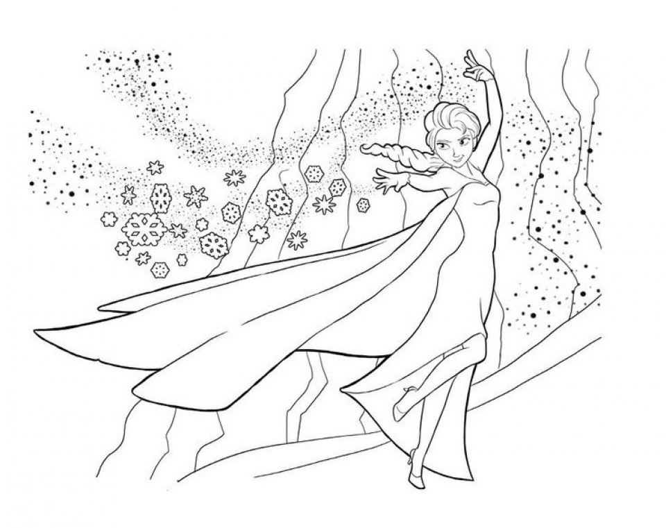 - 20+ Free Printable Disney Princess Elsa Coloring Pages -  EverFreeColoring.com