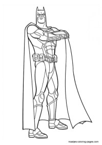 Free Printable Batman Coloring Pages DC Superhero TBW94