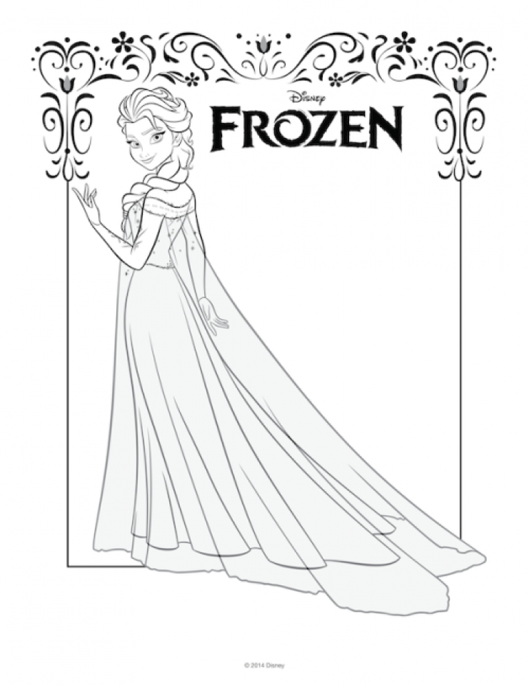 Disney's Frozen Printables, Coloring Pages, and Storybook App ... | 960x741