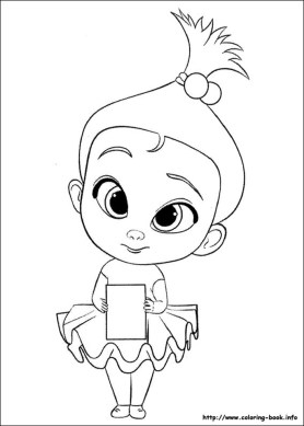 Boss Baby Free Printable Coloring Pages - 56781