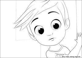 Boss Baby Free Printable Coloring Pages - 73802