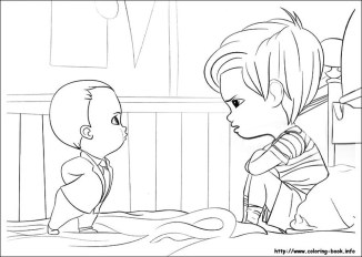 Online Boss Baby Coloring Pages for Kids - 96735