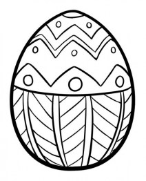Adults Printable Easter Egg Coloring Pages 56472