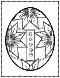 Adults Printable Easter Egg Coloring Pages 56793